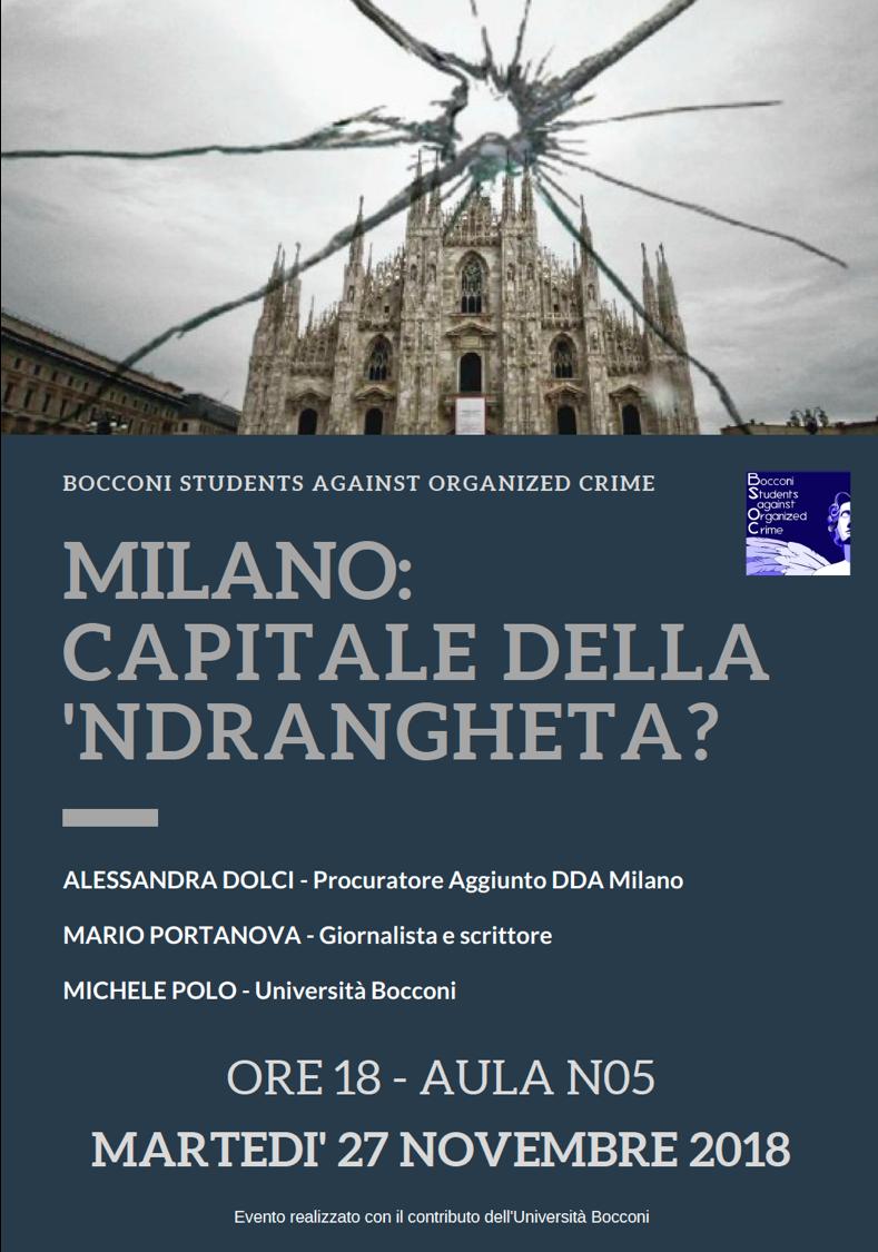 Milano: capitale della 'Ndrangheta?