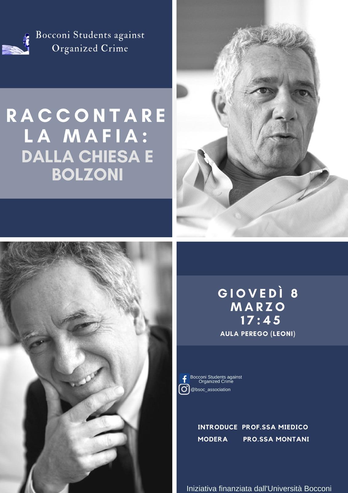 Raccontare la mafia: Dalla Chiesa e Bolzoni